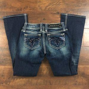 Rock Revival Alanis Boot Cut Jeans Size 27